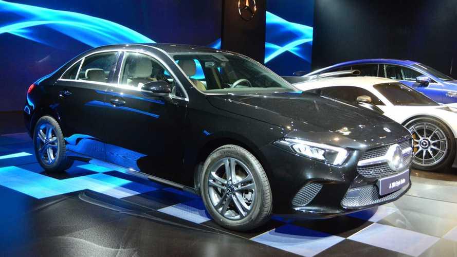Salão de SP: Mercedes Classe A Sedan 2019 é apresentado no Brasil