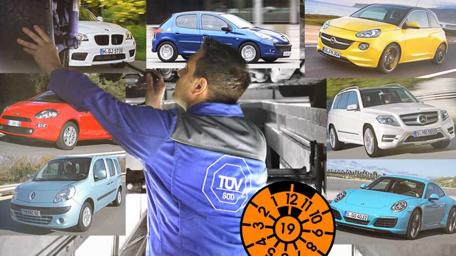 TÜV-Report 2019: Zuverlässige Autos und Mängelriesen