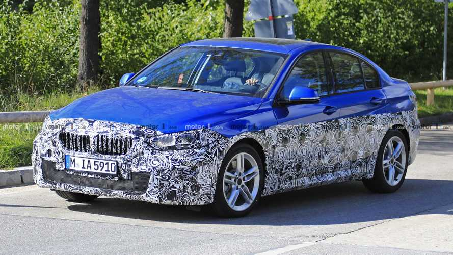 Is BMW Preparing The 1 Series Sedan For European Launch?