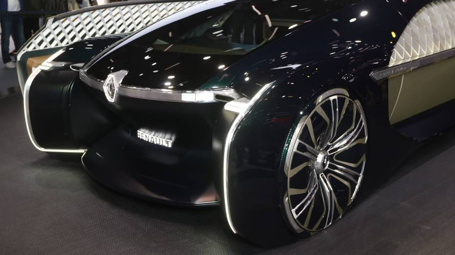 Renault EZ-ULTIMO concept at the Paris Motor Show