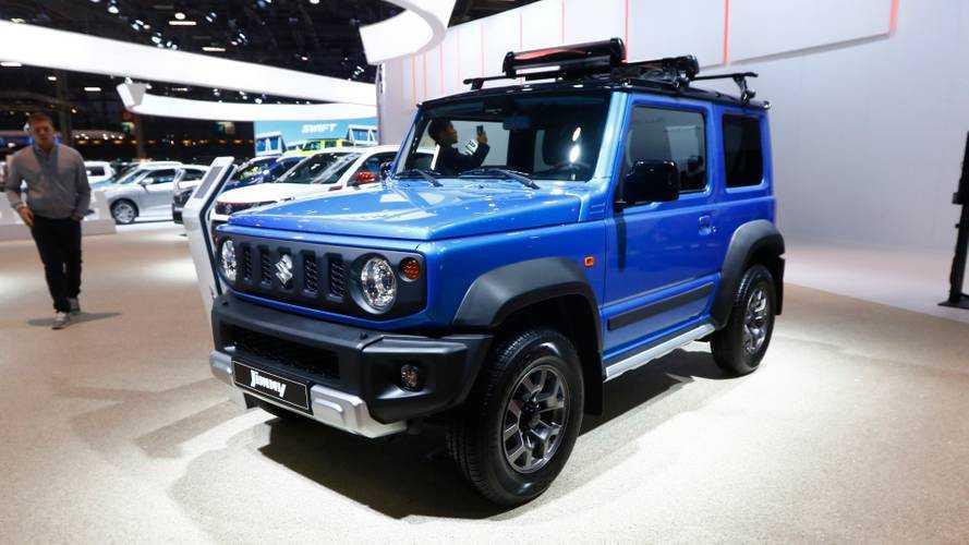 Suzuki al Salone di Parigi 2018