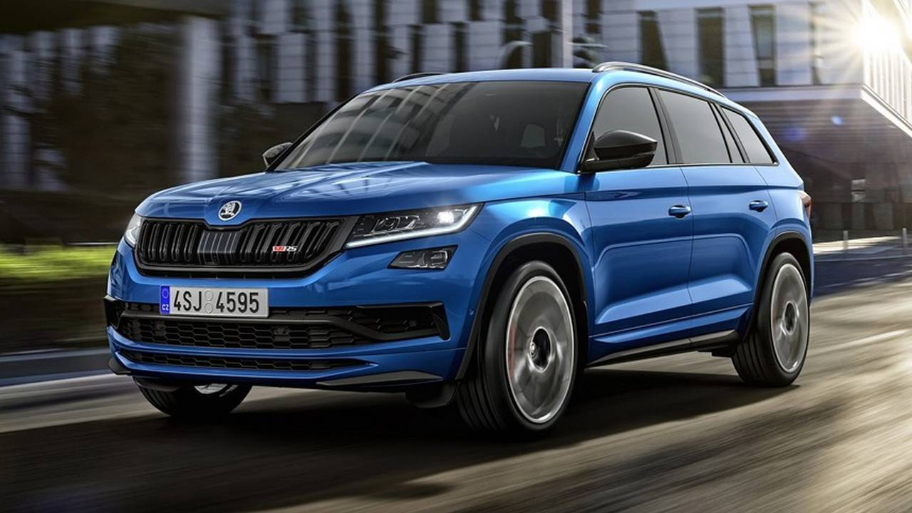 2019 Skoda Kodiaq RS leaked official photo