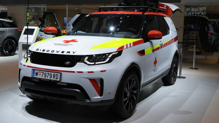 Land Rover develops tech-laden one-off for the Red Cross