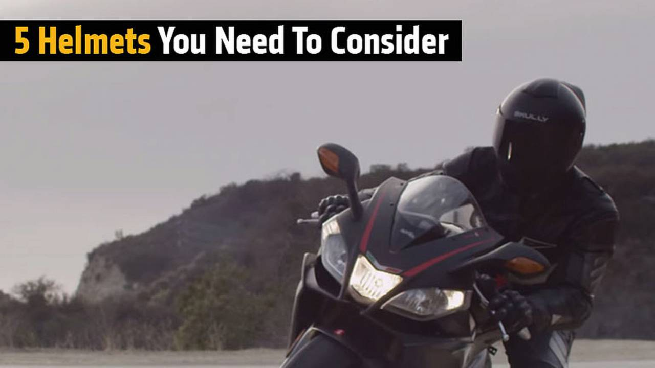 5 Helmets You Need To Consider
