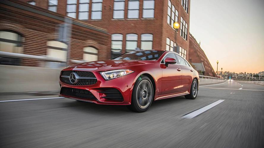 Mercedes CLS 300 Trademark May Signal New Base Trim