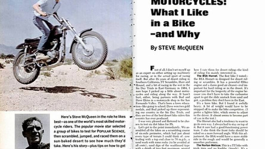 Steve McQueen: what I like in a bike and why