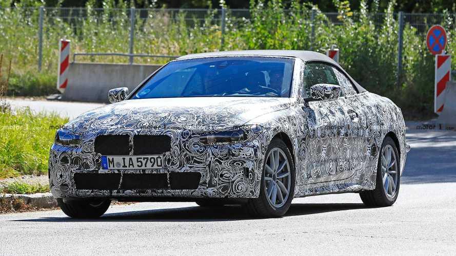 BMW 4er Cabriolet 2020 Erlkönig