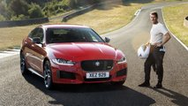 Jaguar XE 300 Sport 2019 at Circuit de Charade