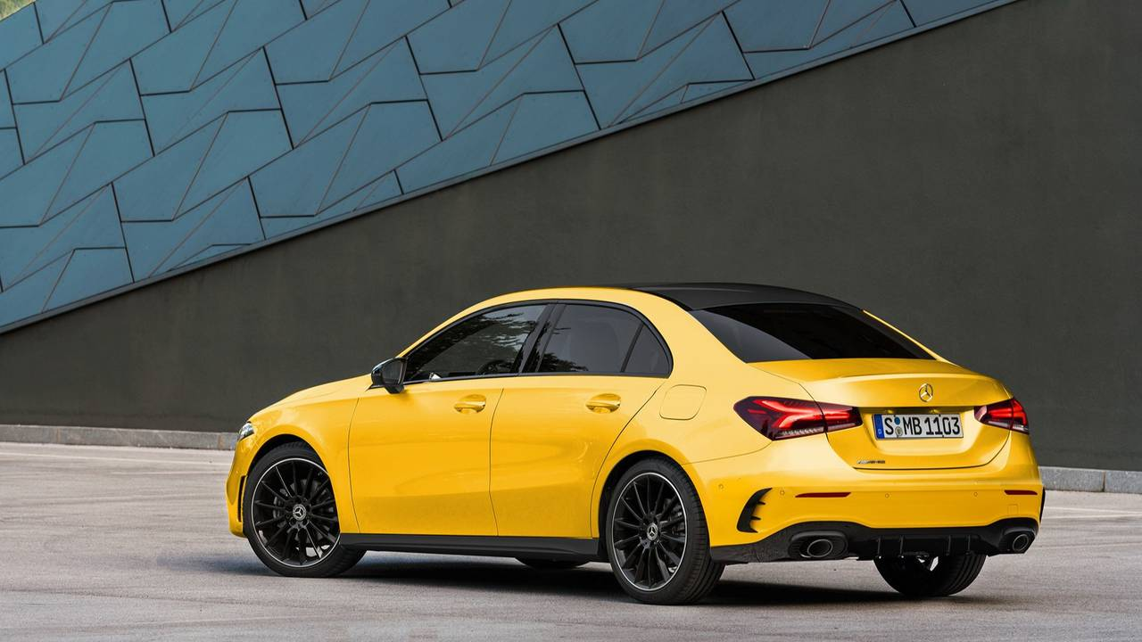 Mercedes-AMG A35 Fan Rendering