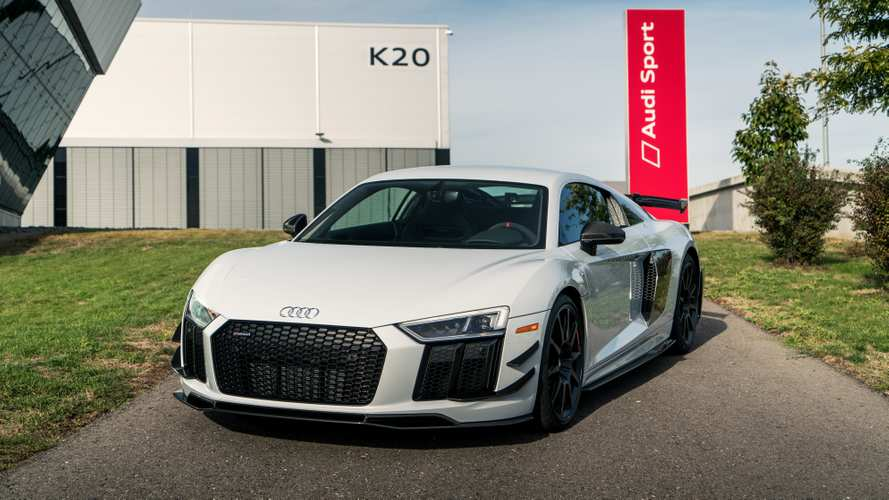 Audi R8 V10 plus Competition Package 2018: mejorando lo presente