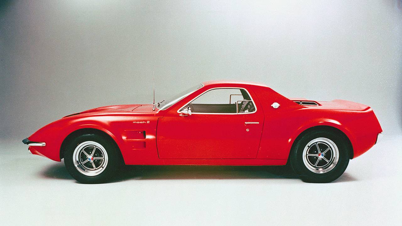 Ford Mustang Mach 2 Concept (1967)