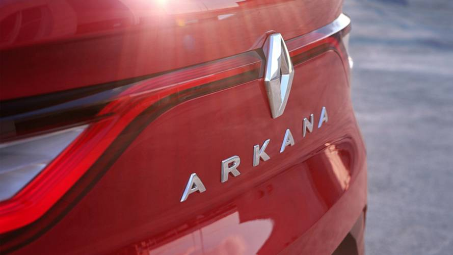 Renault Arkana Teaser Previews Coupe-SUV
