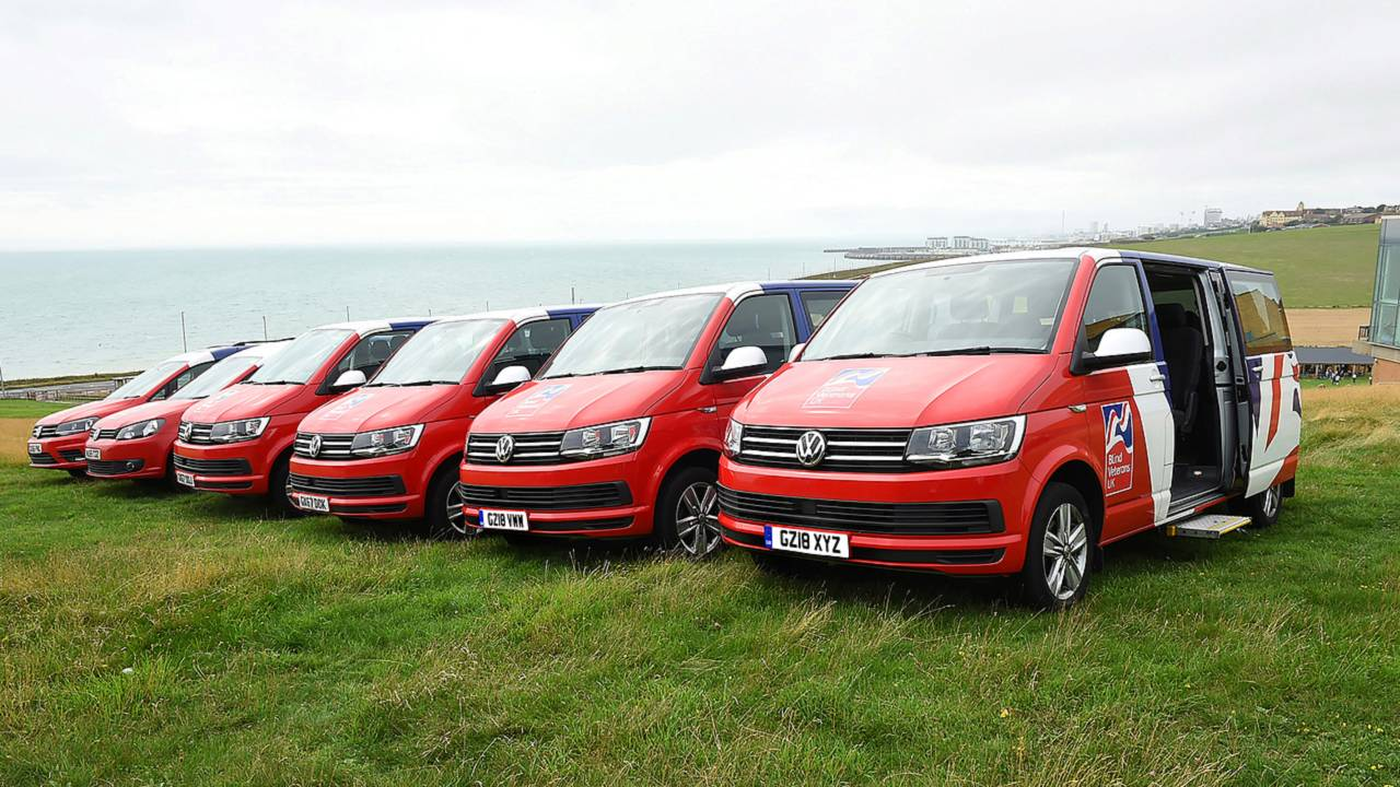 Blind Veterans UK VW Transporters