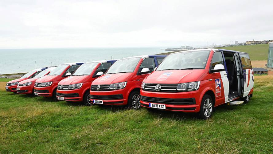 Blind veterans get six new VW Transporters