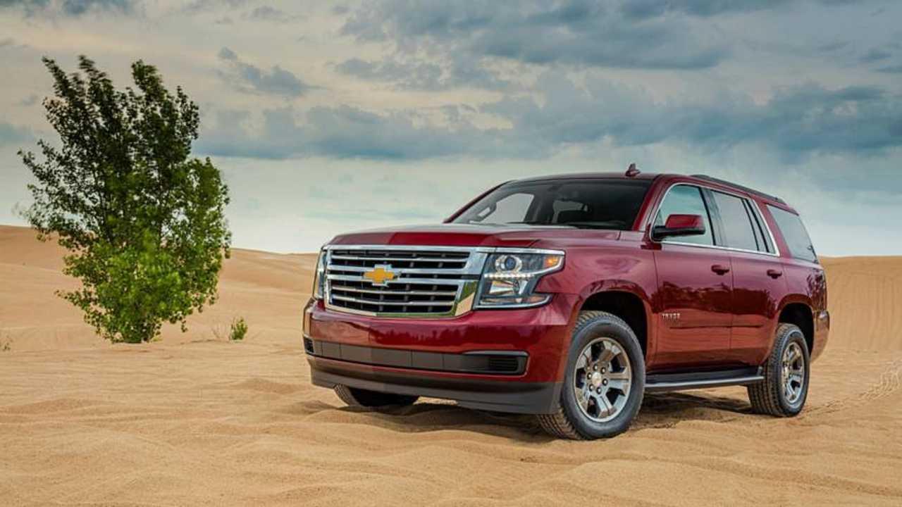 7. Full-Size SUV/Crossover: Chevrolet Tahoe