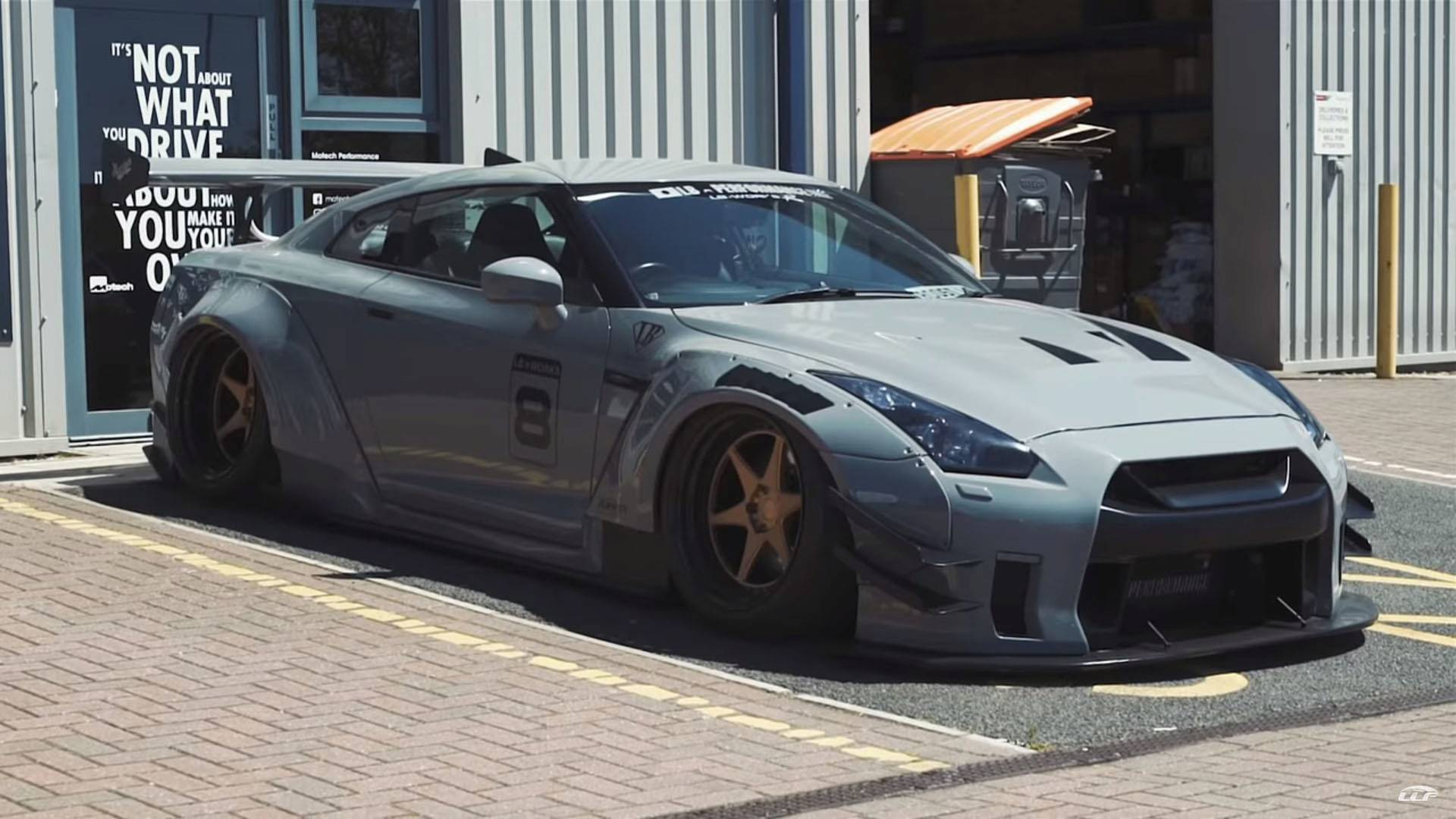 Nissan Gt R By Liberty Walk Is Straight Out Of A Video Game