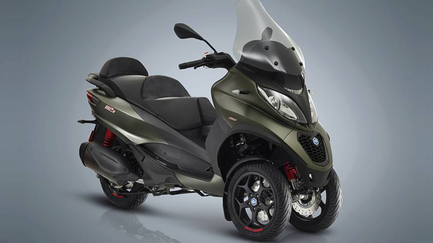 New Piaggio MP3 Plays Up the 3-Wheel Tune