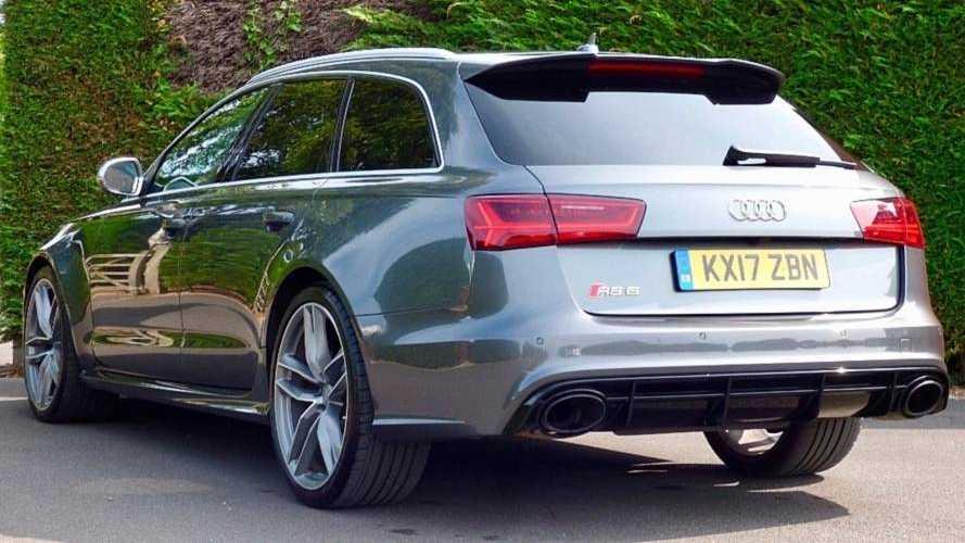 Este Audi RS 6 Avant, del príncipe Harry de Inglaterra, puede ser tuyo