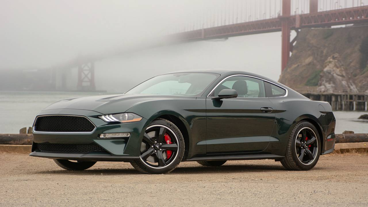 2019 ford mustang bullitt first drive king of cool. Black Bedroom Furniture Sets. Home Design Ideas