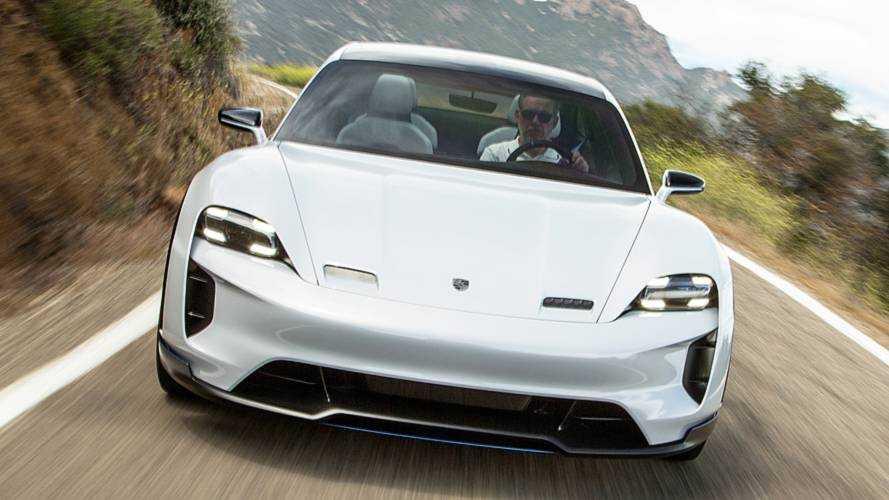 Porsche Taycan, 600 CV per più di 500 km