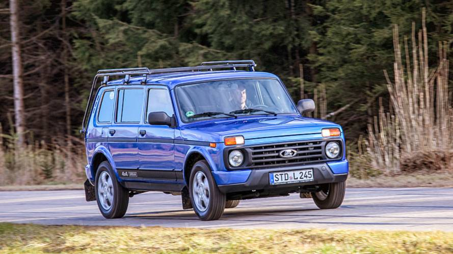 2018 Lada 4x4 Urban 5-Tuerer Test