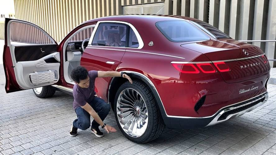 Mercedes-Maybach Ultimate Luxury'e bu video ile yakından bakın