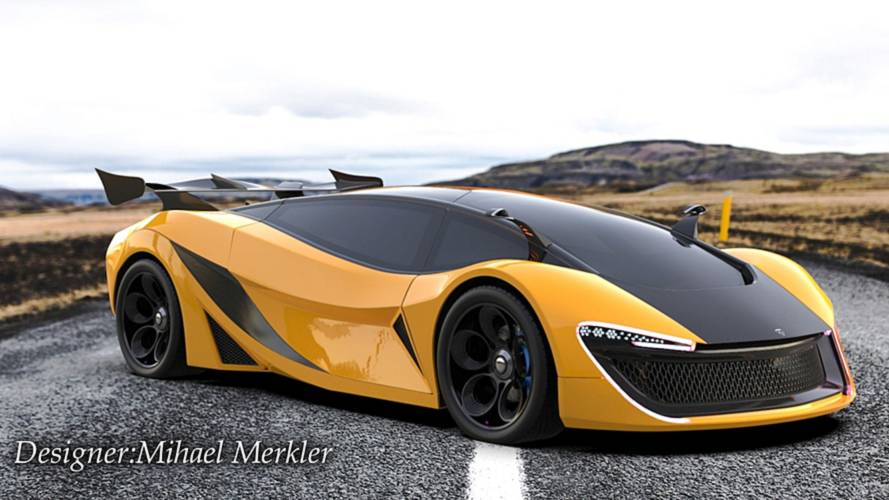 Curvaceous electric hypercar looks real, but it isn't