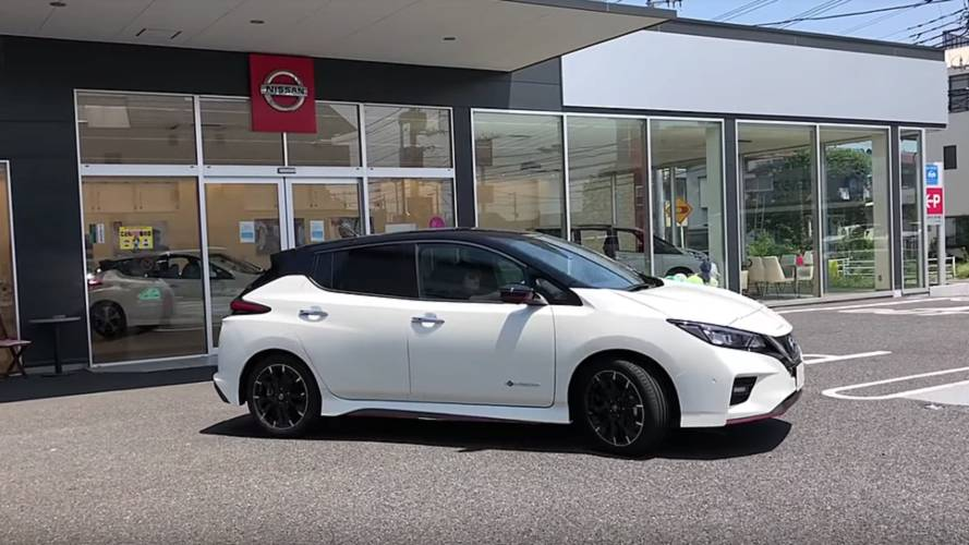 Watch This World's First Drive Review Of Nissan LEAF NISMO
