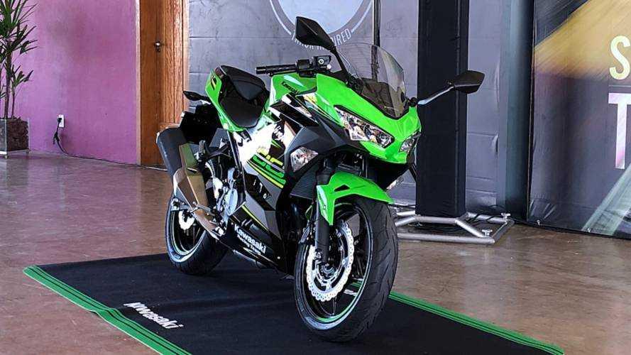 Nova Kawasaki Ninja 400 estreia com preço a partir de R$ 23.990