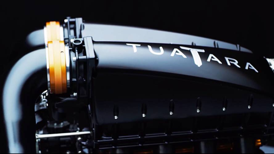 SSC Tuatara's beefy engine teased