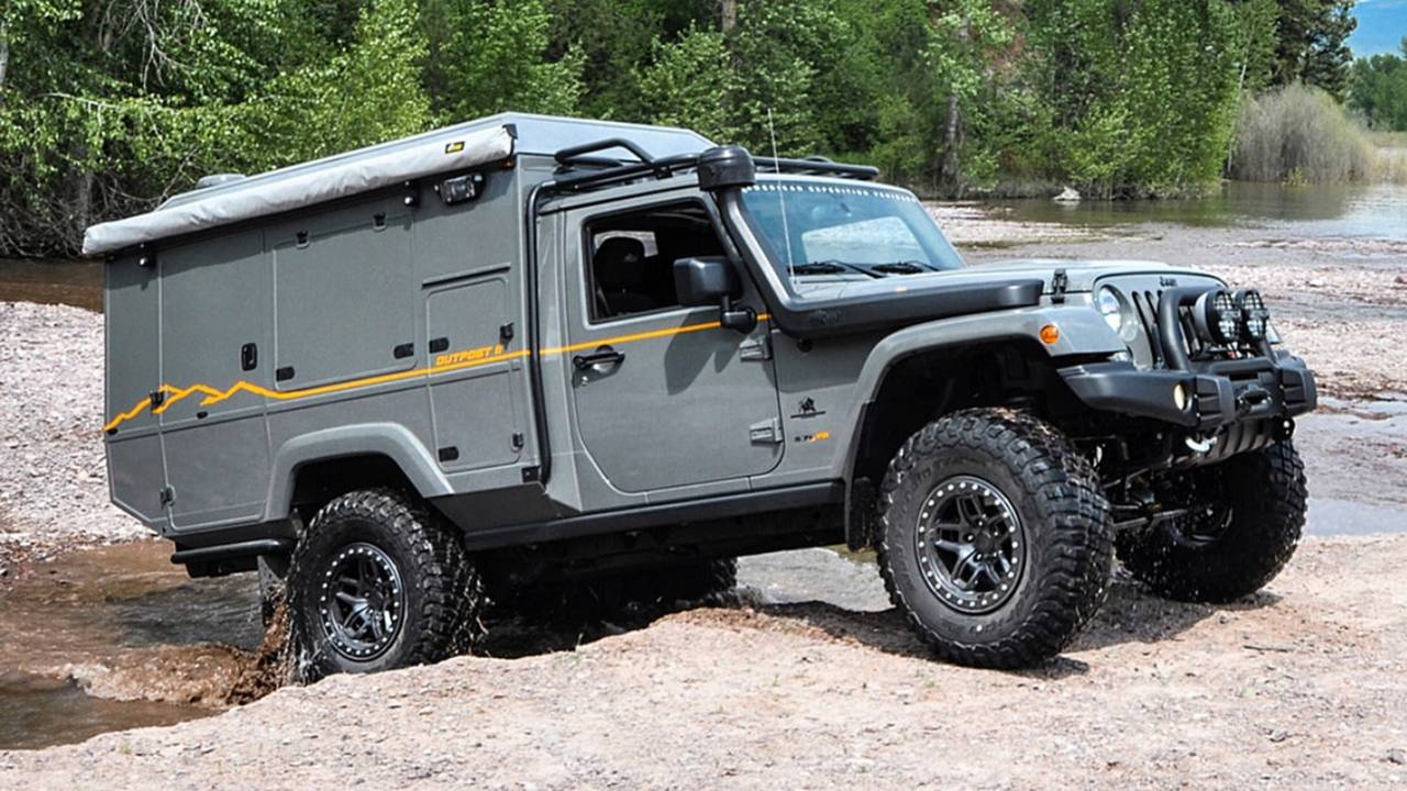 Jeep Wrangler Outpost II Concept