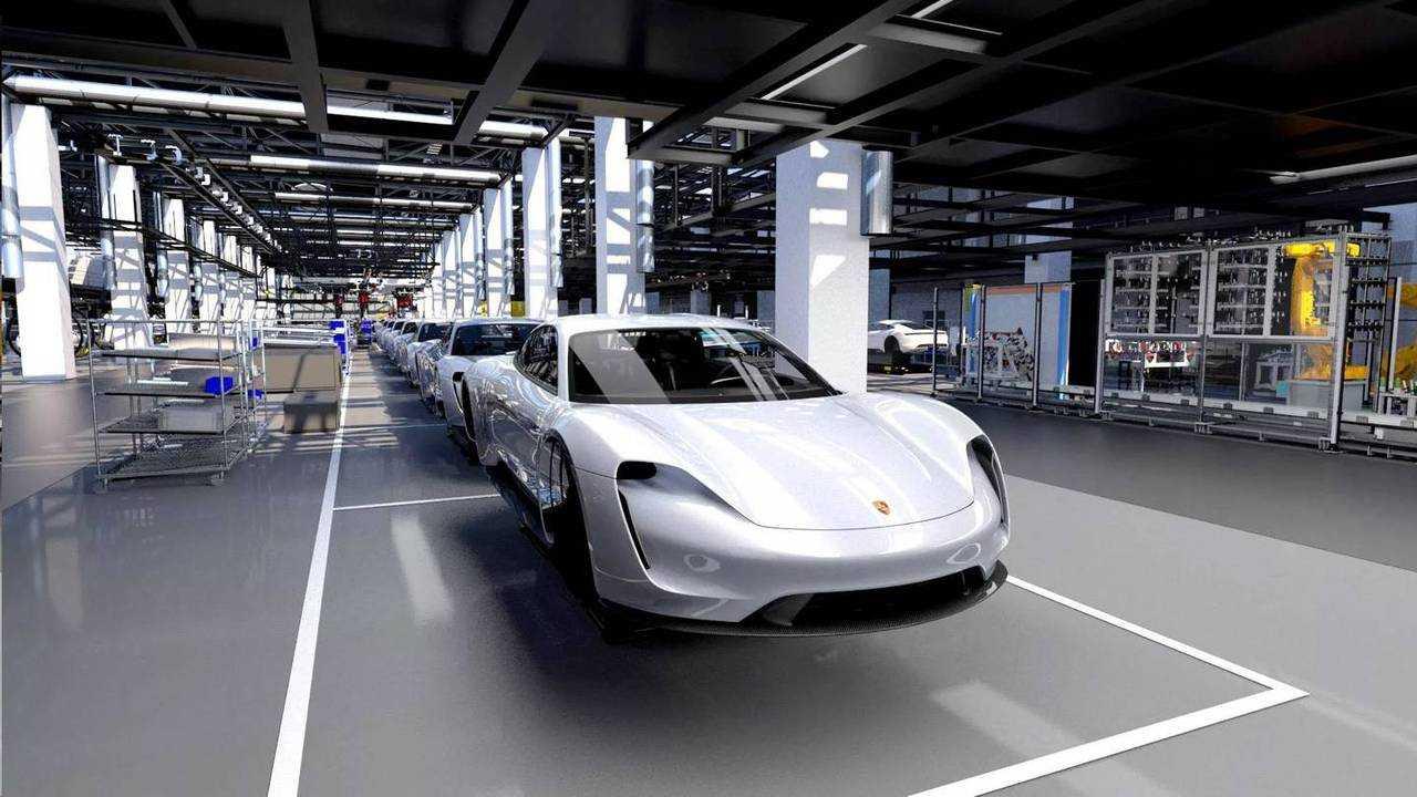 Porsche Taycan produção