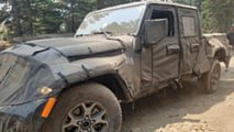Jeep Wrangler Pickup Trail Spy Photos