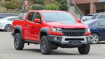 2019 Chevrolet Colorado ZR2 Bison Spied