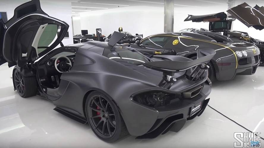 You Have To See To Believe This Hypercar Garage Actually Exists