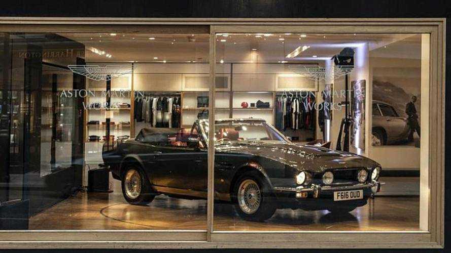Aston Martin Opens Dedicated Heritage Showroom In Mayfair
