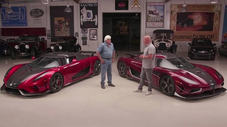 Jay Leno Is In Awe Of Koenigsegg Regera After Taking A Drive