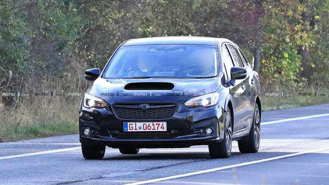 Subaru Levorg Test Mule Spy Photo