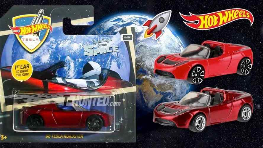 "Tesla Roadster ""Starman"" Toy Launched By Hot Wheels"