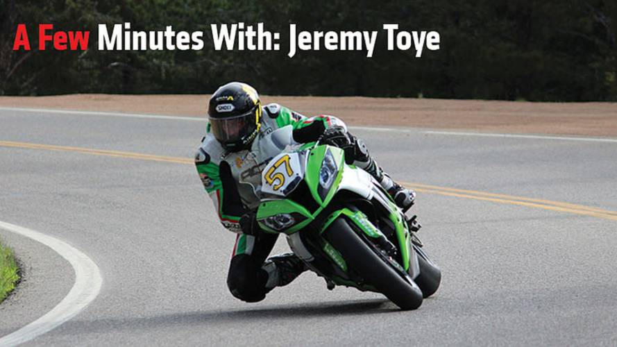 A Few Minutes With: Jeremy Toye