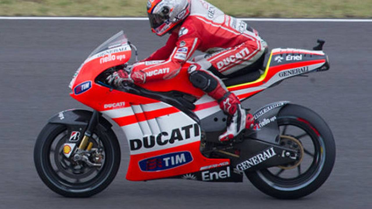 What Ducati's aluminum beam GP frame means for the 1199
