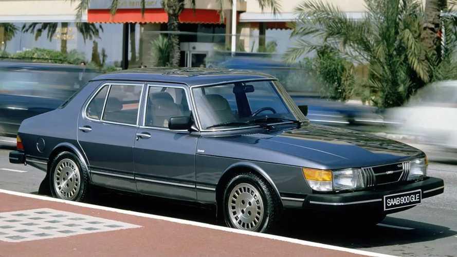 Saab 900 prima serie, le foto storiche