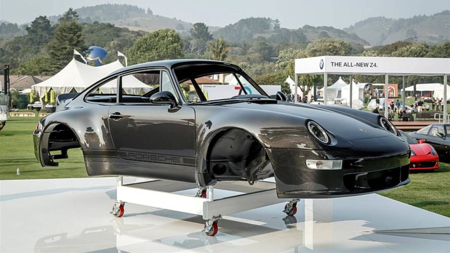 Gunther Werks displays carbon fibre 911 body at Pebble Beach