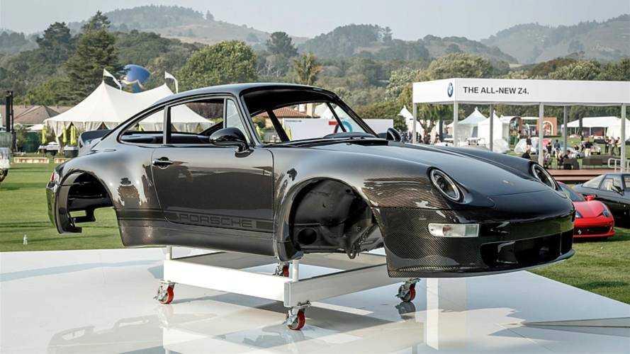 Una Porsche 911 completamente in fibra di carbonio