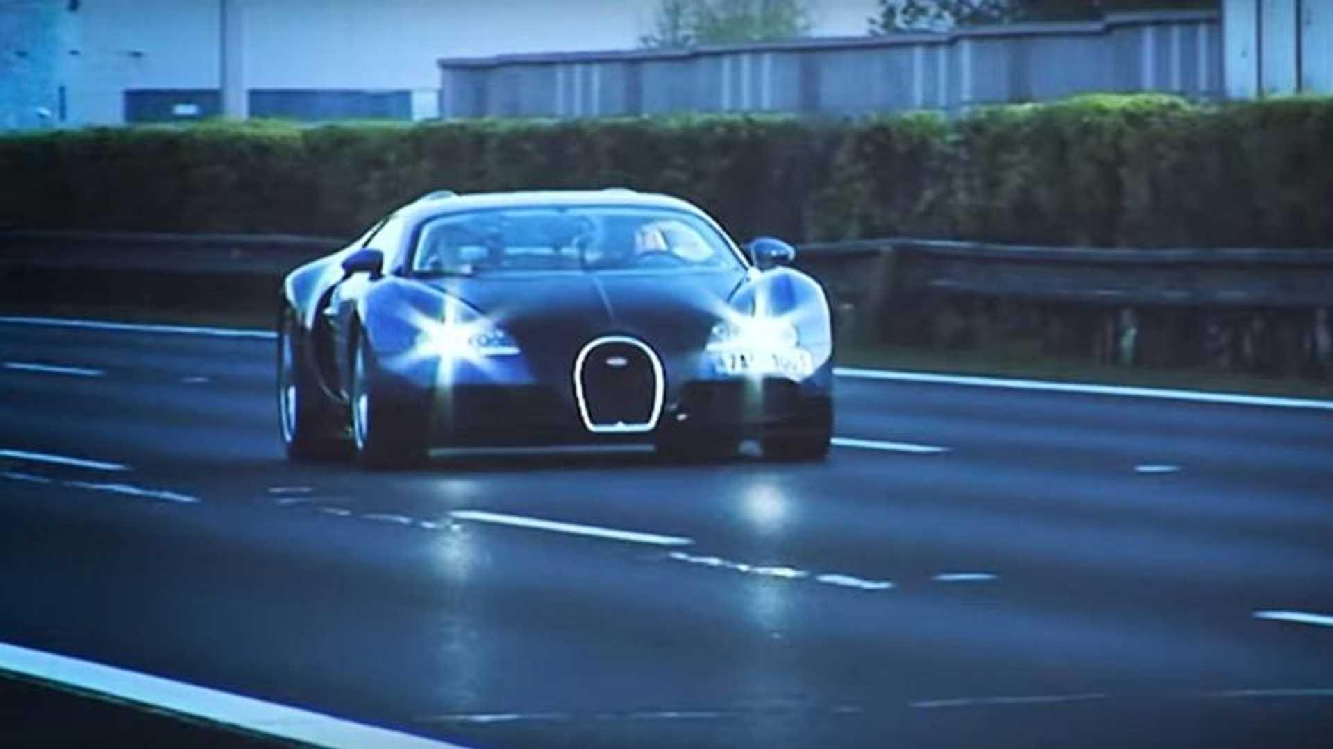 Rekord z ČR: 402,5 km/h s Bugatti Veyron na diaľnici