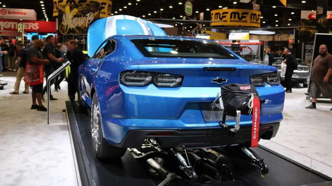 2019 Chevy COPO Camaro Gets Retro Look To Mark 50-Year ...