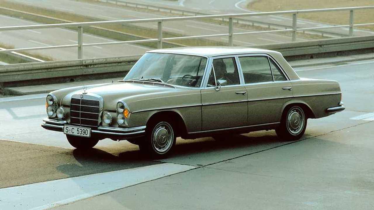 Mercedes SEL 6.3 AMG, le foto storiche