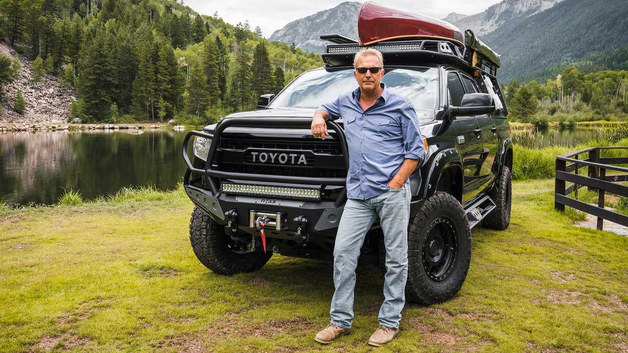 ec7aa55c4388 Toyota Tundra Kevin Costner SEMA Custom