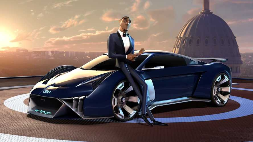 Audi Gets Animated, Imagines Electric Spy Car For Will Smith