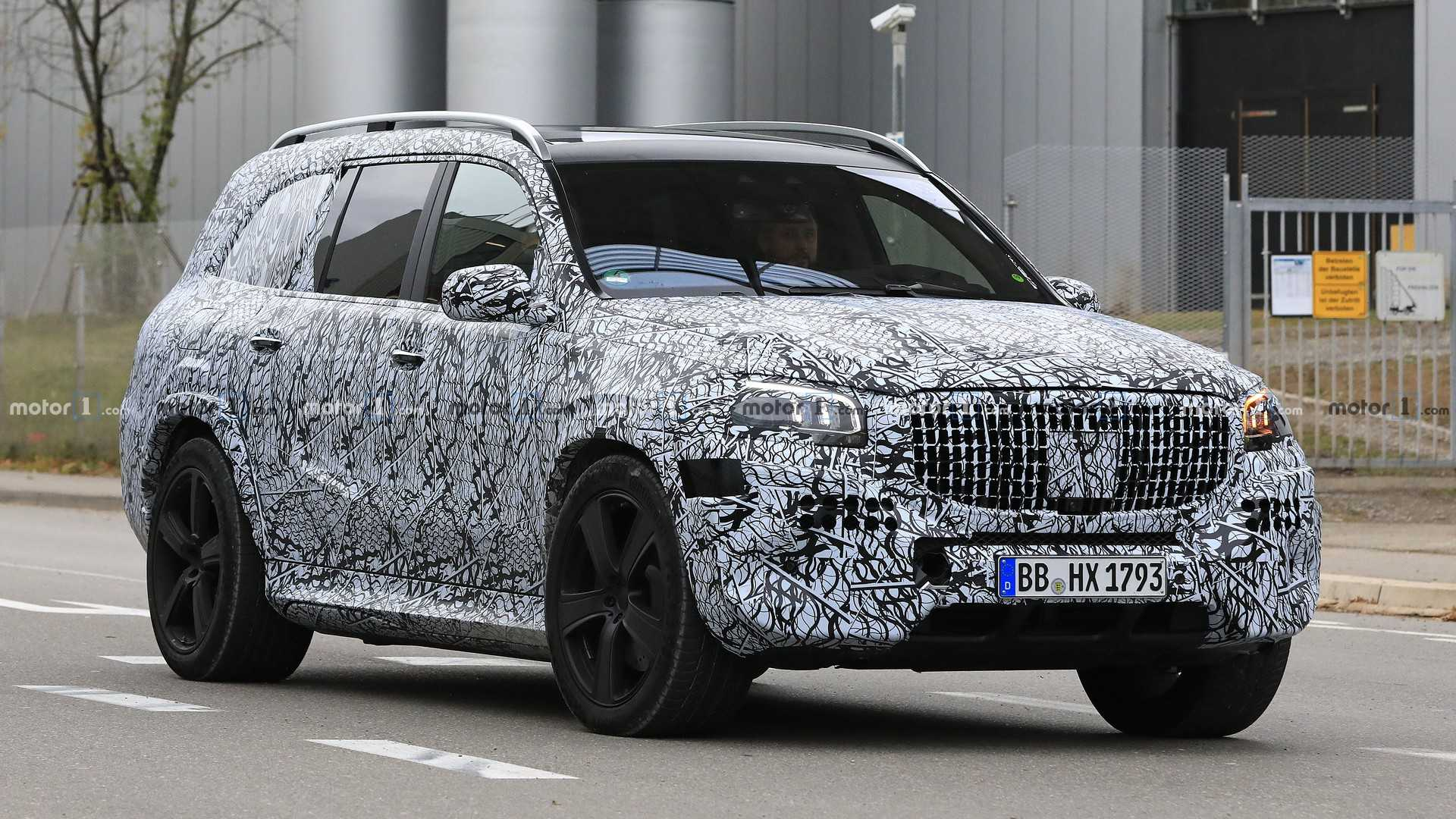 Mercedes Maybach Gls Spied For The First Time